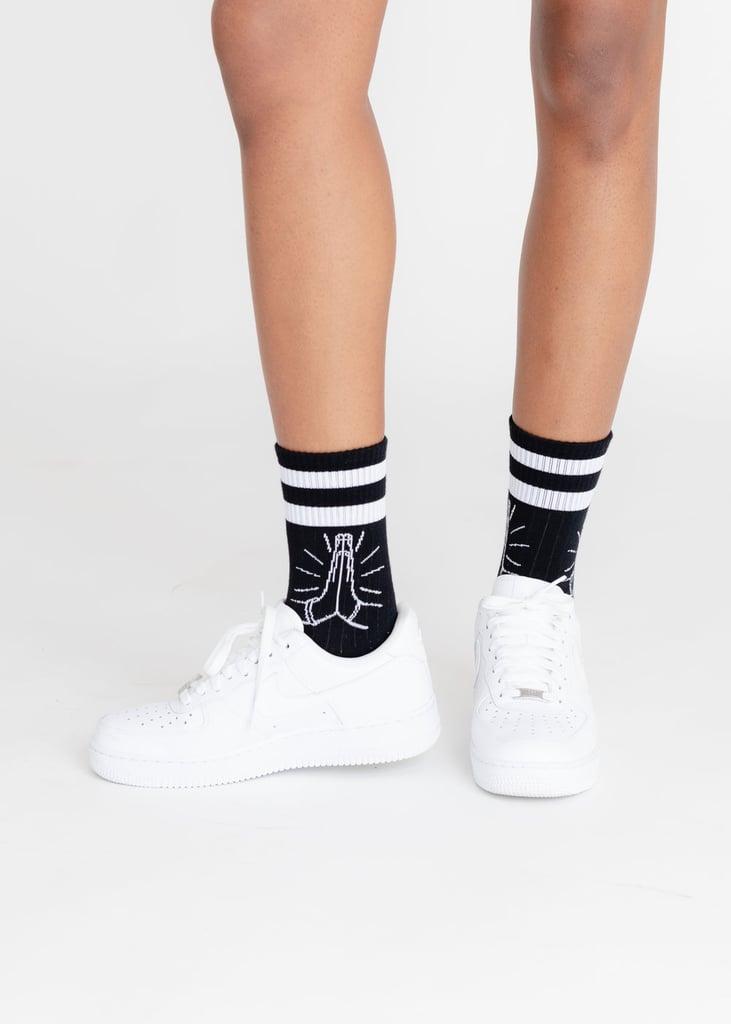 Y7 Namaste Hands Socks