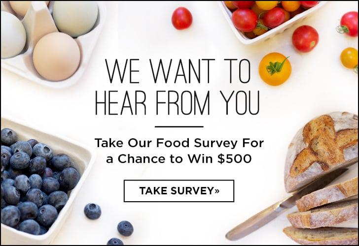 Food Survey | December 2014 | POPSUGAR Food