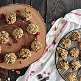 Pistachio-Crusted Chewy Chocolate Chip Cranberry Cookies