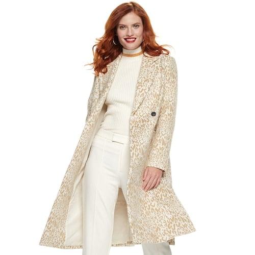 Nine West Side Vent Coat   Trendy