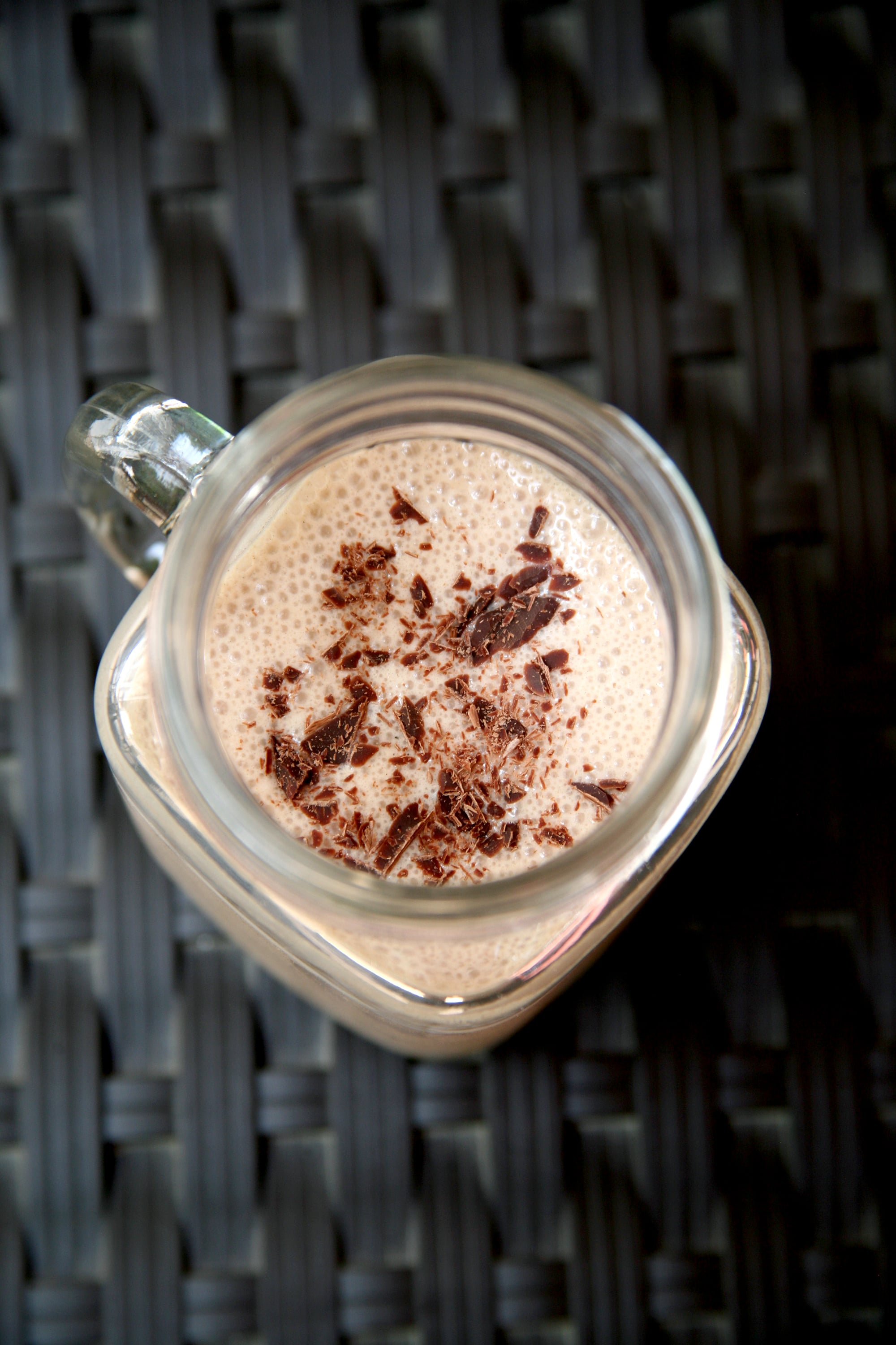 Low-Calorie Chocolate Smoothie | POPSUGAR Fitness