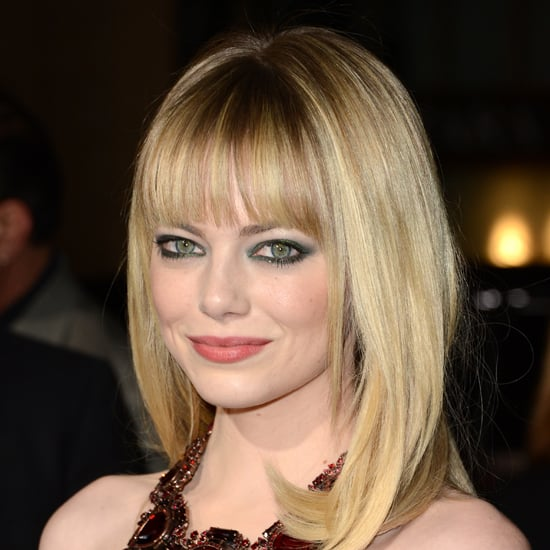 Picture of Emma Stone's Eye Makeup for Gangster Squad