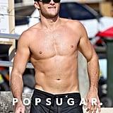 Scott Eastwood Shirtless in Australia November 2016