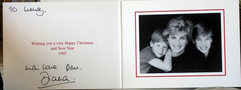 بطاقة من الأميرة ديانا، 1995