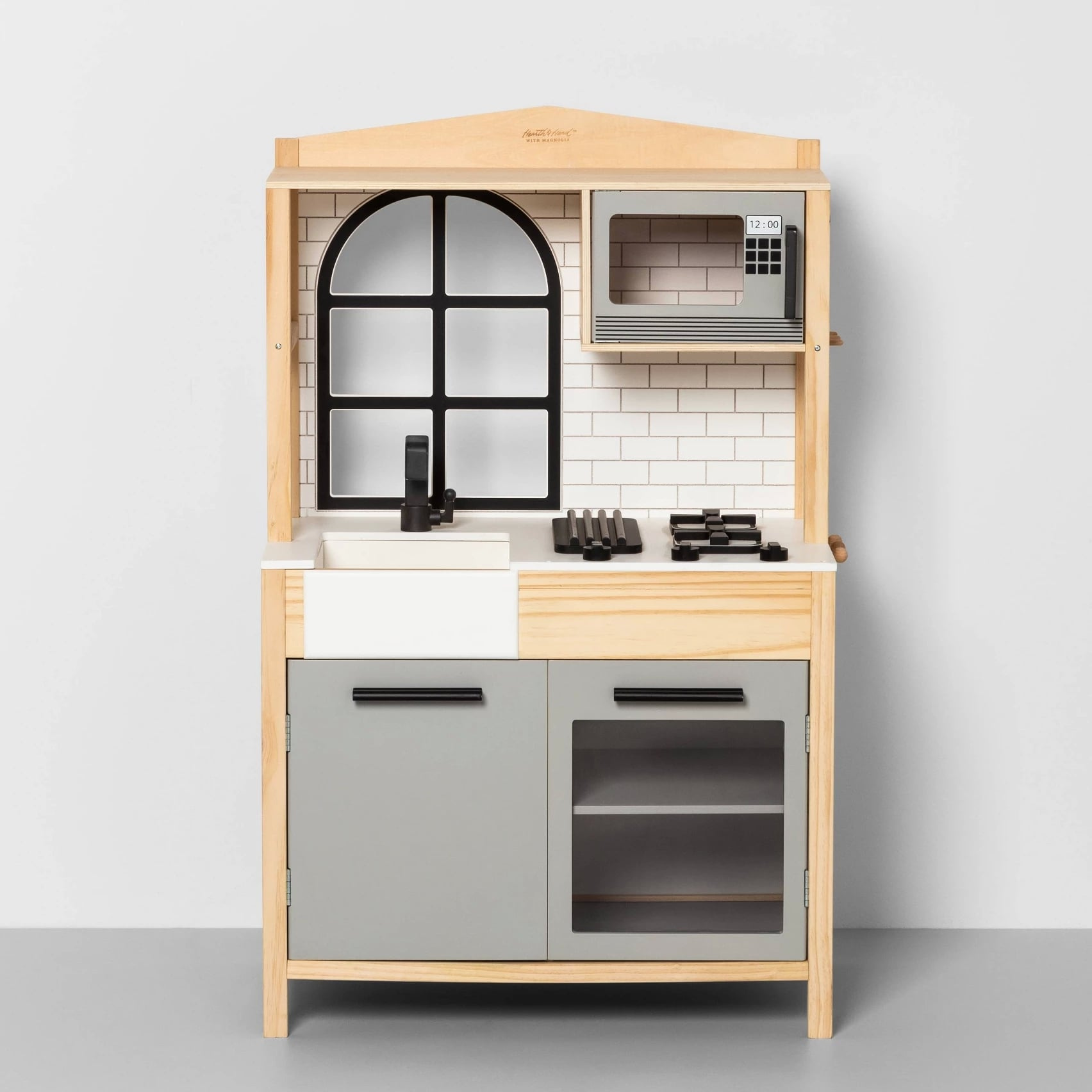 Kids\' Wooden Kitchen | The Latest Magnolia Drop at Target ...