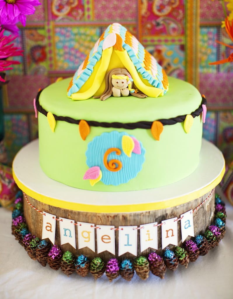 Glamping Cake Girls Birthday Cakes POPSUGAR Moms Photo 8