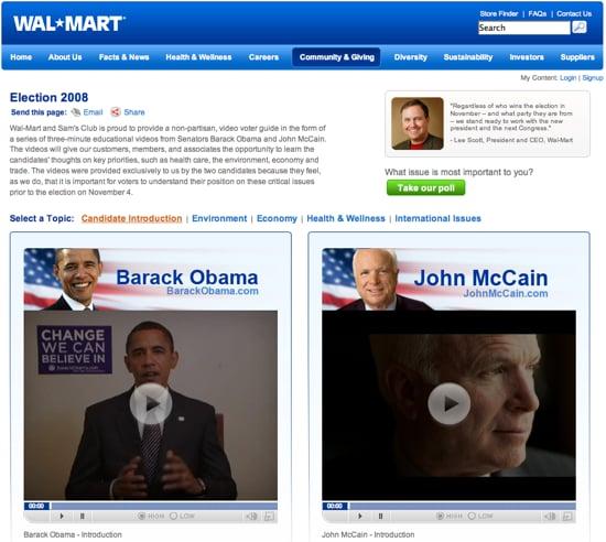 Fab Flash: Wal-Mart Gets Political