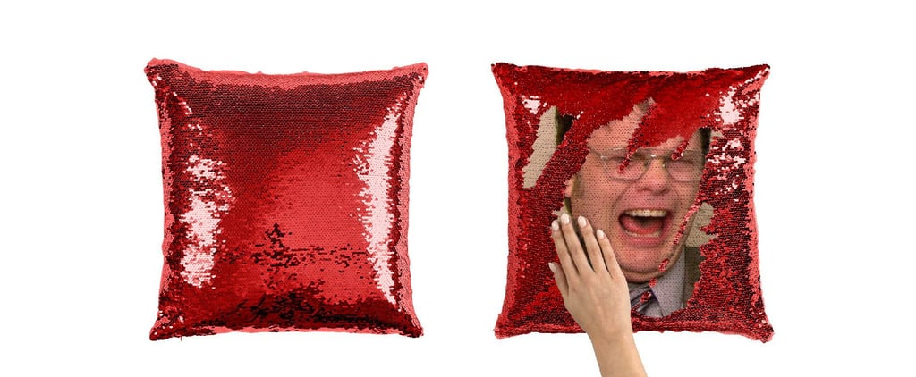 Dwight Schrute Sequin Pillows