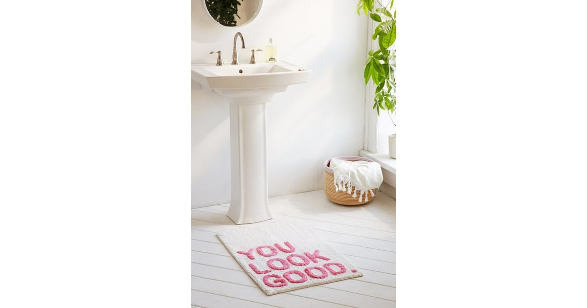 Plum And Bow You Look Good Bath Mat 34 Best Home Decor Products