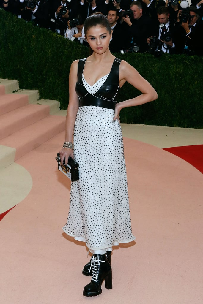 She used fashion events, like the Met Gala, to experiment with her look.