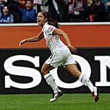 Alex Morgan at the 2011 FIFA Women's World Cup