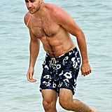 Jake Gyllenhaal took a dip.