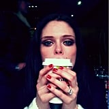 Coco Rocha is waiting to go home.