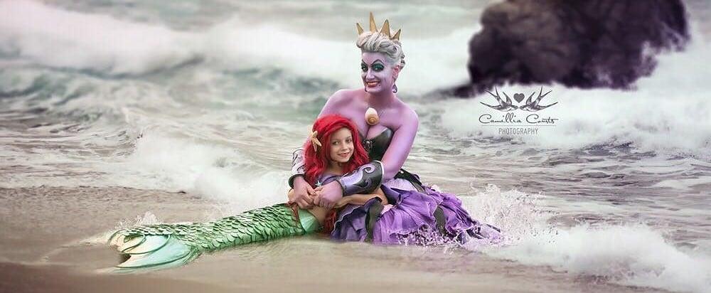 This Mother-Daughter Duo Bonds Over Disney Princess Dress-Up