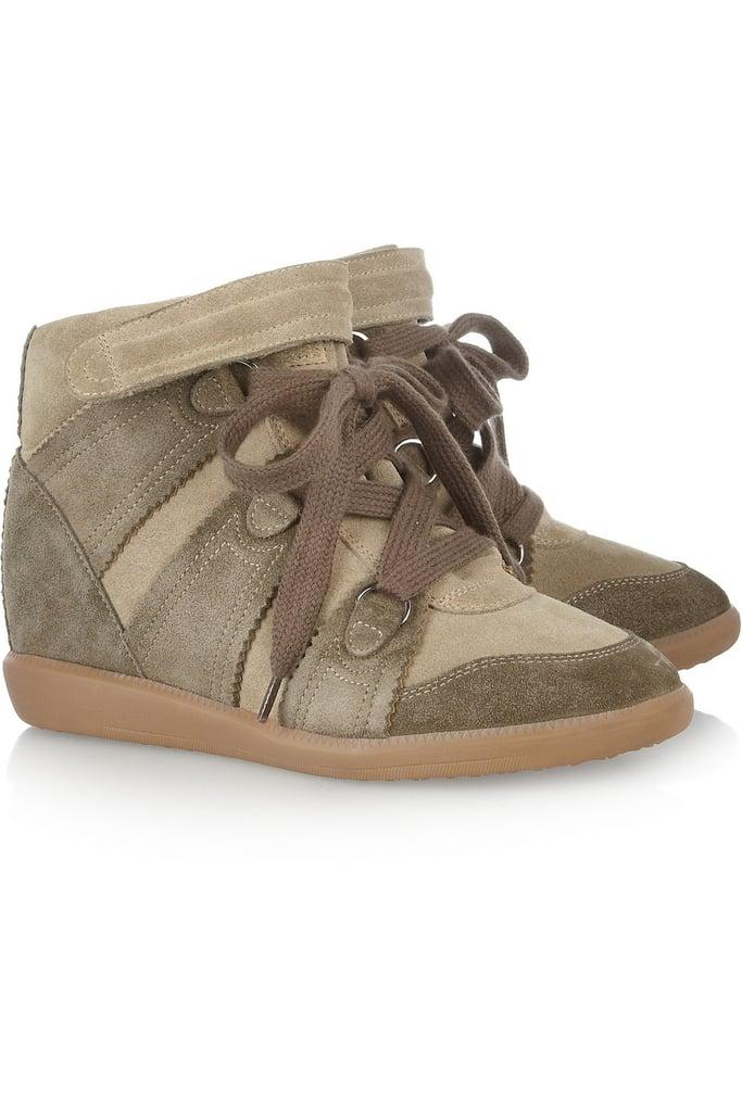 Isabel Marant Bluebel Suede Concealed Wedge Sneakers ($487, originally $695)