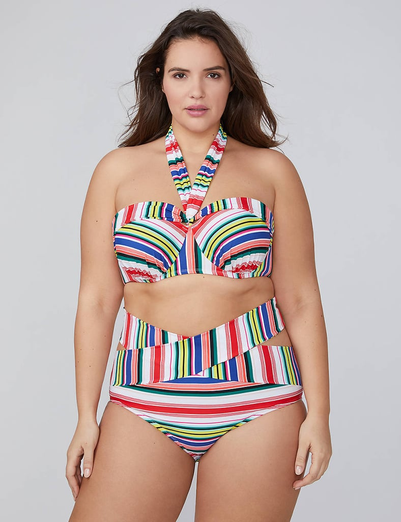 c6c0b5641a7 Lane Bryant Multi-Stripe Convertible Swim Bikini | Taylor Swift ...