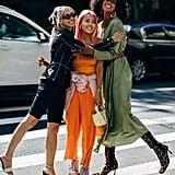 Autumn 2019 Fashion Trend: Mismatched Shoes