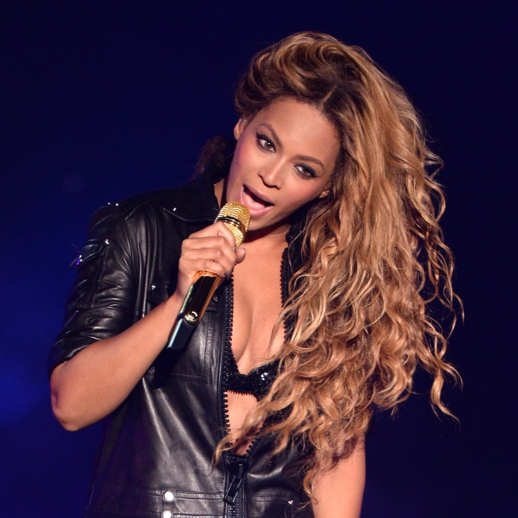 Beyonces Long Hairstyles POPSUGAR Beauty - Hairstyle for color run