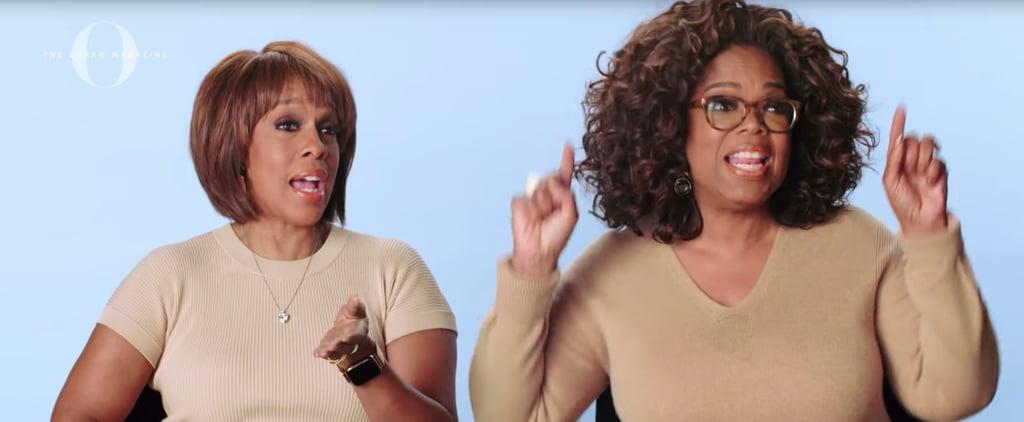 Oprah and Gayle King Slang Quiz Video