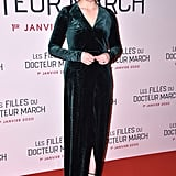 Greta Gerwig at the Little Women Premiere in Paris
