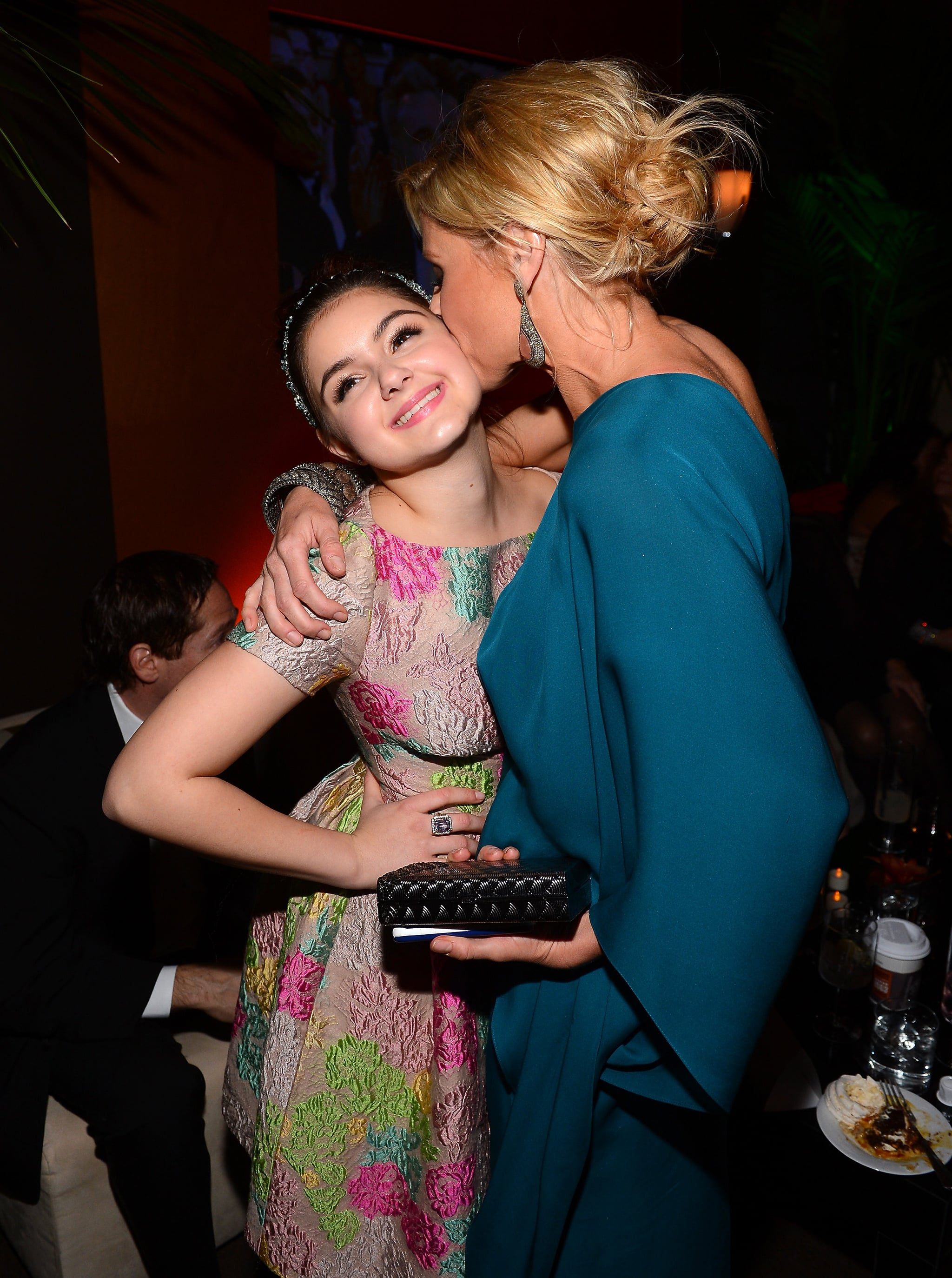Modern Family costars Ariel Winter and Jullie Bowen were together at the Fox bash.