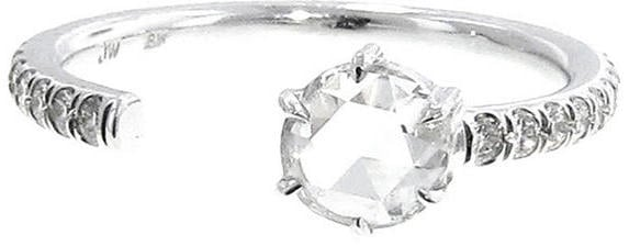Jemma Wynne Single Rose Cut Diamond Open Band ($3,570)