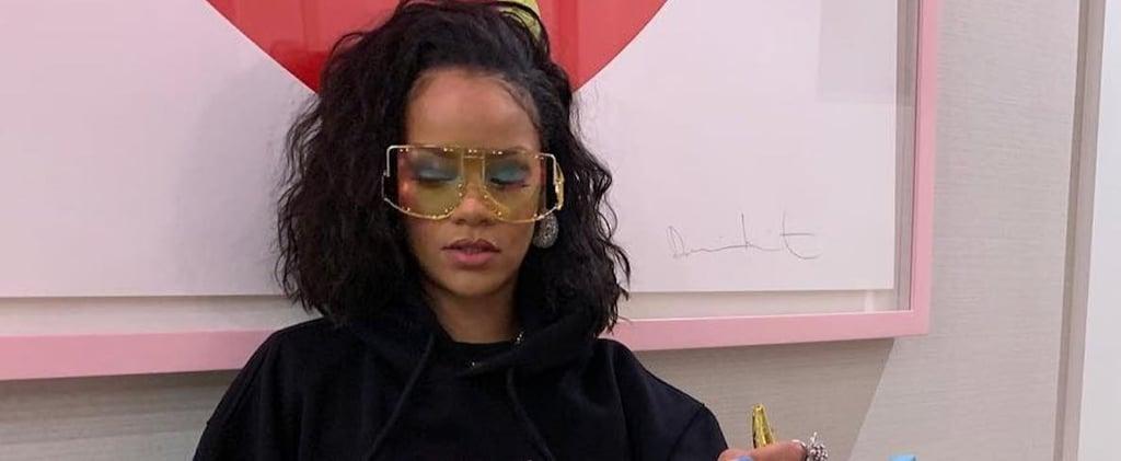Rihanna's Birthday Hoodie Instagram Feb. 2019