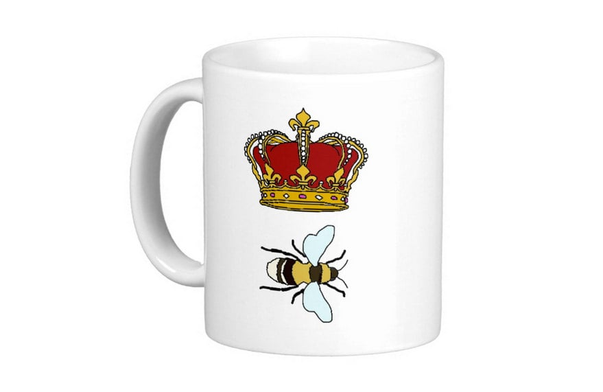 Kazvare Made It Queen Bee Mug 1766 Beyonce Fan Girl Gifts And