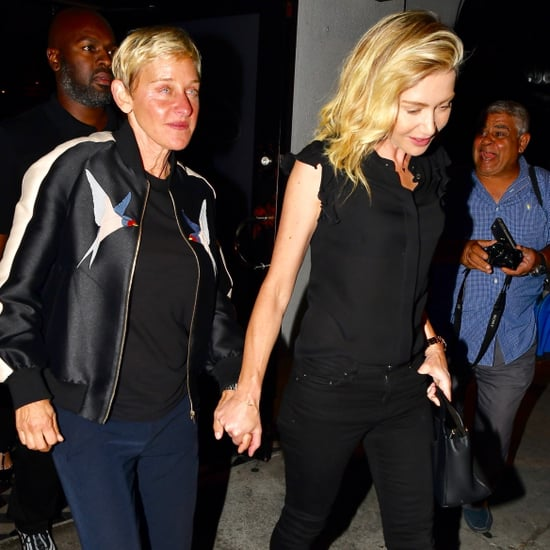 Ellen DeGeneres and Portia de Rossi in LA August 2018