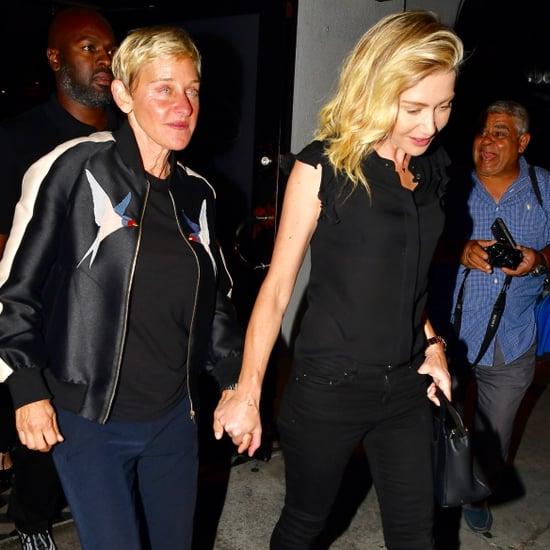 Ellen DeGeneres and Portia de Rossi in LA August 2018
