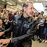 Jeff Goldblum Plays Piano in London Station