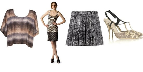 Shopping: Snakeskin Prints Add Texture