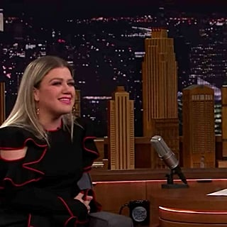 Kelly Clarkson on River's Chris Martin Crush on Tonight Show