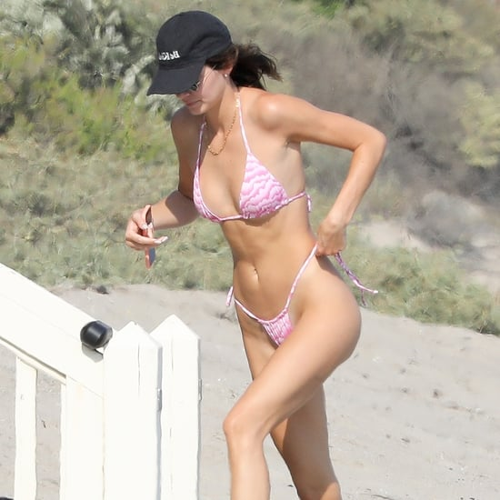 Kendall Jenner's Pink Cloud Bikini From Frankies Bikinis