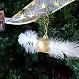 Decorate with snitch ornaments.