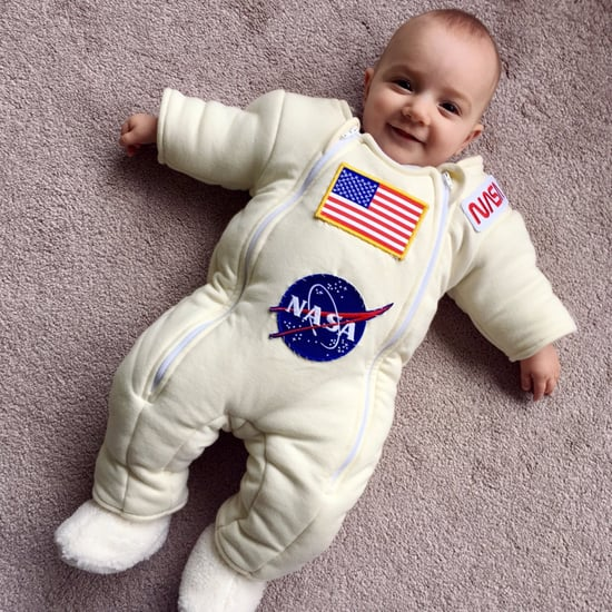 Dad Turns Onesie Into NASA Spacesuit