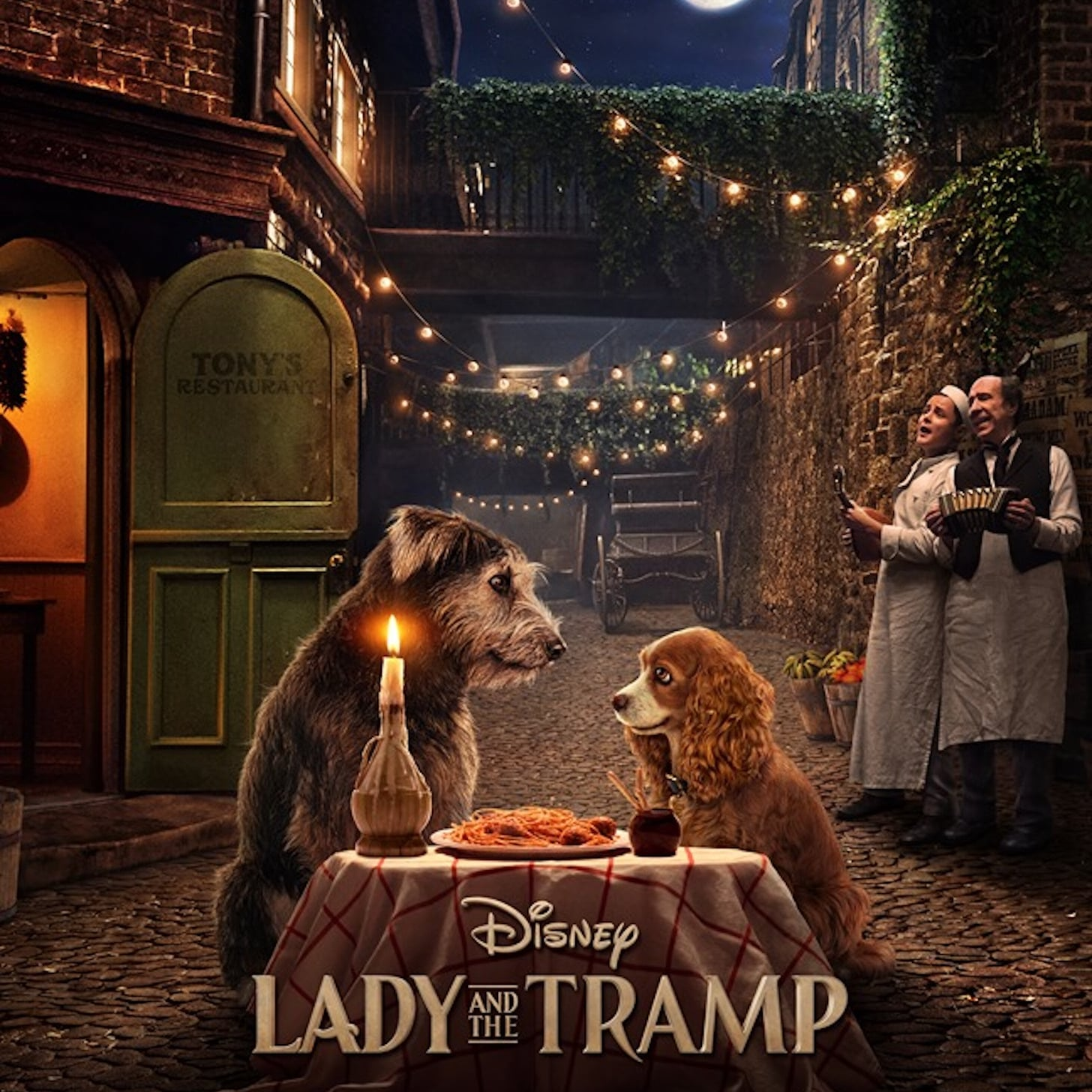Lady And The Tramp Live Action Remake Movie Poster Popsugar Entertainment