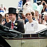 Kate Middleton in a Carriage 2016