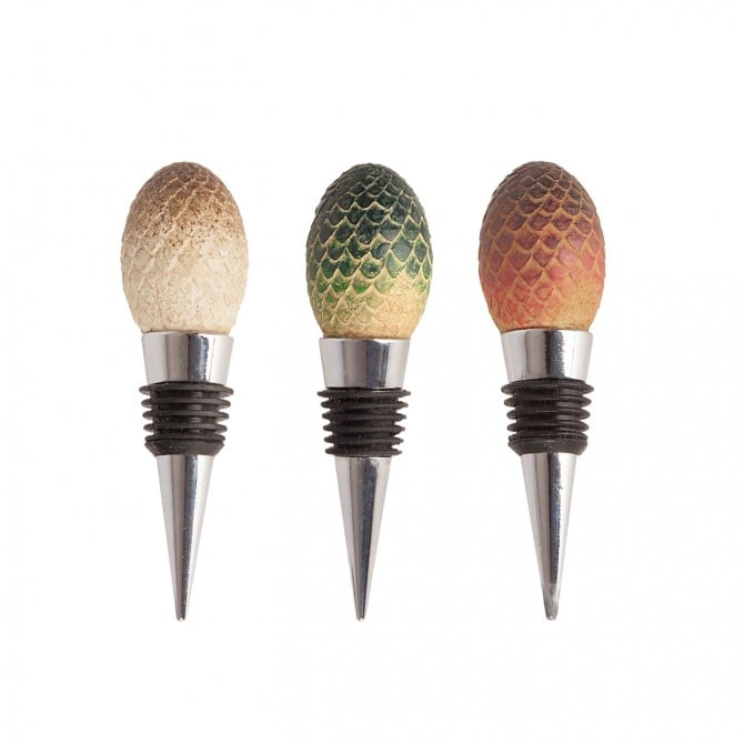 Dragon Eggs Wine Stoppers (Set of 3) ($40)
