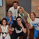 "Skrillex hung out with Britney and her boys in August 2015. ""What a sweetheart! Thank you for coming tonight @Skrillex, dream come true for my boys!!"" Britney wrote. Her brother Bryan Spears and niece Lexie also got in on the fun."