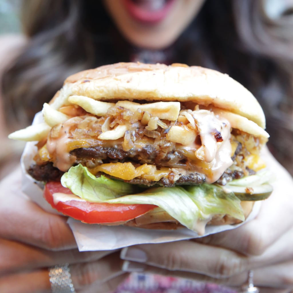 Monkey Style In-N-Out Burger