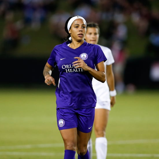 US Women's Soccer Player Sydney Leroux Pregnant at Practice