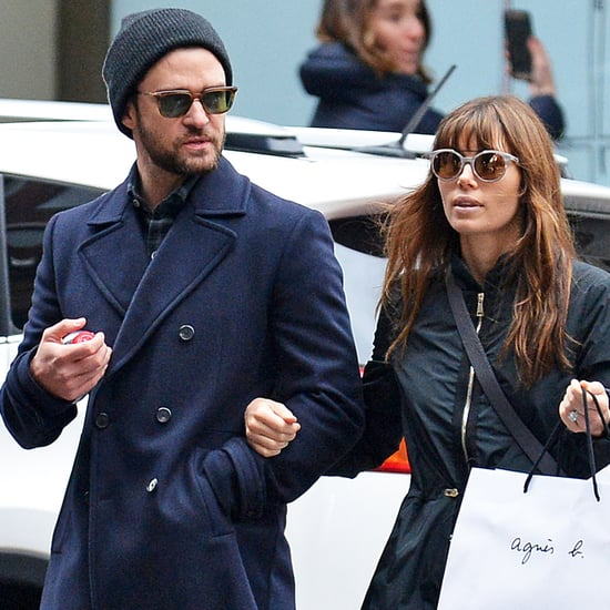 Justin Timberlake and Jessica Biel in NYC November 2016