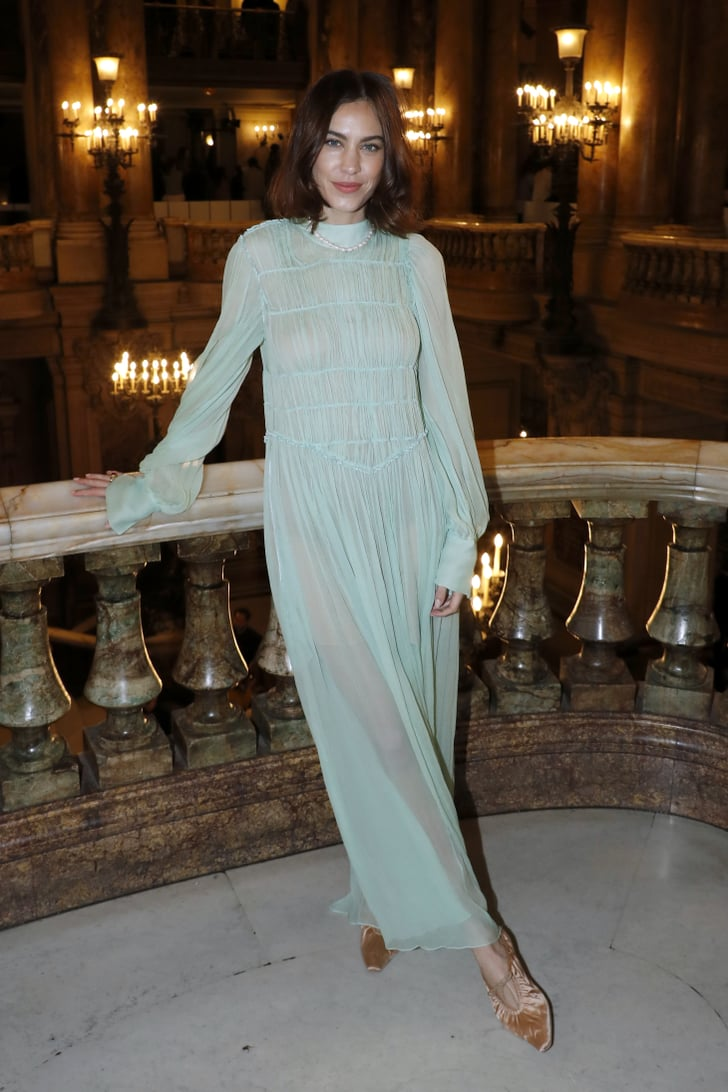 Alexa Chung At Stella Mccartney Fall 2019 Celebrities In