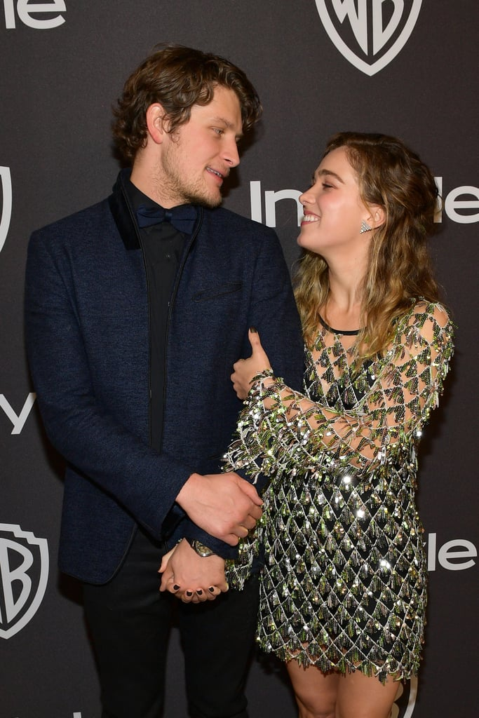 "Haley Lu Richardson and Brett Dier make an adorable couple, and it's time we talk about it. The Five Feet Apart actress and Jane the Virgin star first met seven years ago and have been giving us precious glimpses of their love ever since. In 2018, Haley announced they were engaged after she popped the question to Michael.  ""We were at this outdoor strip mall eating pizza when it happened,"" Haley told Cosmopolitan about their engagement. ""When we were crying and having this really amazing moment that I'll never forget, crying and holding each other and saying oh my gosh, we're going to get married, we're going to be together forever, we were like, we're gonna have to do something about it because we didn't have any rings. So we went over to this bush and got these twigs and each knelt down one at a time and tied these twigs around our ring fingers.""  When they're not goofing off with each other on social media, they're cuddling up on the red carpet. Seriously, if you're not following their relationship, you're doing yourself a huge disservice. See some of their cutest moments ahead!"