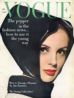 Tilly Tizzani, Vogue, August 1962