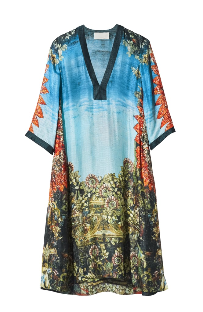 H&M Conscious Collection Patterned Silk Tunic ($199)