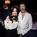 Camila Cabello and Simon Cowell