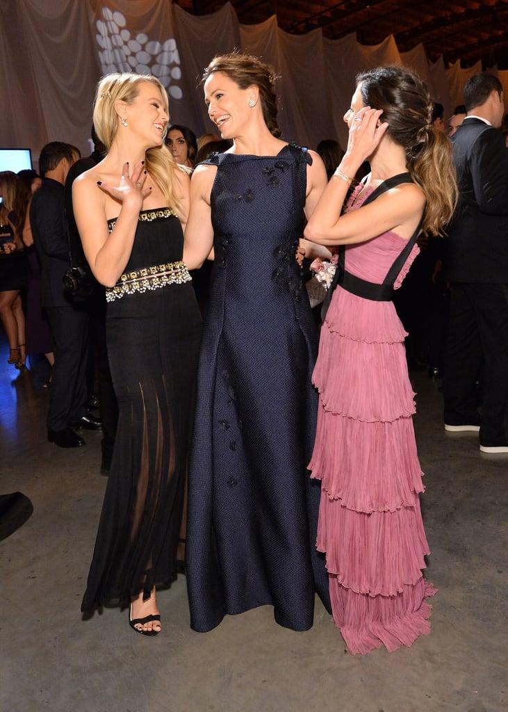 Pictured: Jennifer Garner, Kelly Sawyer, and Norah Weinstein