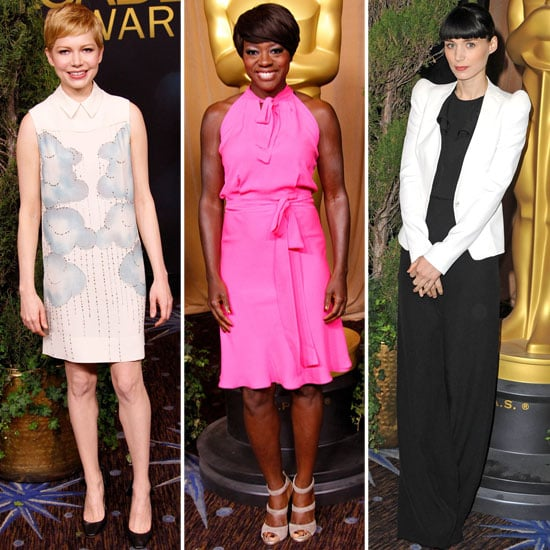 Michelle Williams, Rooney Mara, and More Dress Up For the Academy Awards Luncheon